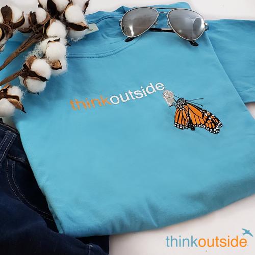 Pure Cotton Mountain Ladies T-shirt | ThinkOutside
