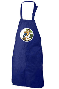 Feed the Birds Apron (blue)