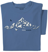 Pure Cotton Mountain Ladies T-shirt | ThinkOutside