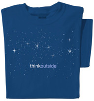 Pure Cotton Stars Ladies T-shirt | ThinkOutside | Big Dipper Constellation