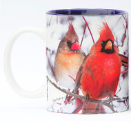 Winter Cardinals Mug | Jim Rathert Photography | Bird Mug