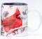 Winter Cardinals mug