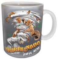 Squirrelnado Mug | Funny Squirrel