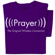 Prayer, the original wireless connection