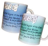 Carol Carter - Watercolor Rules Mugs