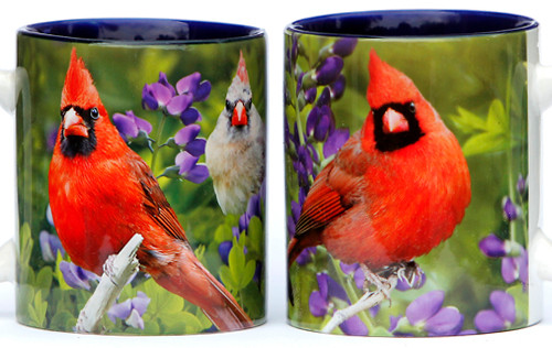 Summer Cardinal Mug | Jim Rathert Photography | Bird Mug