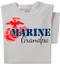 Marine Grandpa T-shirt