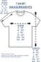 T-shirt Sizing Chart