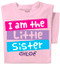 I'm the Little Sister Personalized Toddler & Youth T-shirt