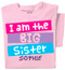 I'm the Big Sister Personalized Toddler & Youth T-shirt