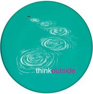 ThinkOutside Skipping Stones Sandstone Ceramic Coaster | Front