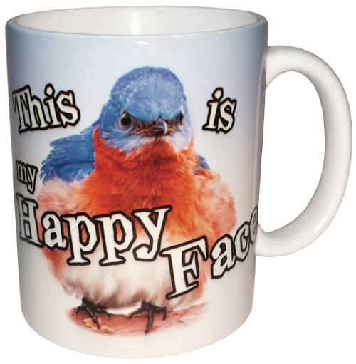 This is my Happy Face Ceramic Mug