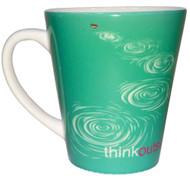 ThinkOutside Stone Skip Latte Mug   12 oz. ceramic
