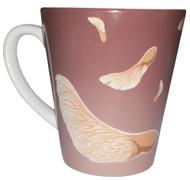 ThinkOutside Helicopter Seeds Latte Mug   12 oz. ceramic