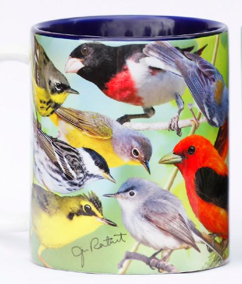Spring Forest Birds Mug