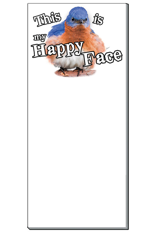This Is My Happy Face Notepad