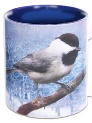 Chickadee in Snow | Chickadee Mug