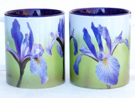 Southern Blue Flag Iris Mug | Ceramic 11 oz. | Jim Rather Photography | Flower Mug