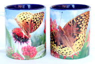 Fritillary Butterfly Mug | Ceramic 11 oz. | Jim Rathert Photography