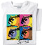 SqWarhol T-shirt | Squirrel Funny | White Tee
