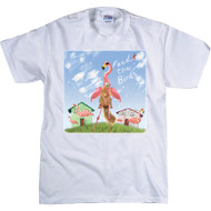 Feed the Flamingo T-shirt | Funny Squirrel T-shirt