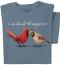 Cardinal Whisperer T-shirt |  Funny Bird Tee