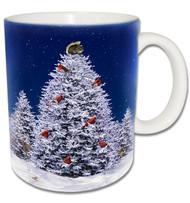 Christmas Tree Squirrel Mug | Christmas Squirrel Mug
