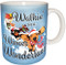 Walkin' in a Wiener Wonderland Dachshund Mug | Christmas Mug