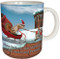 Christmas Sleigh Squirrel Mug | Christmas Mug