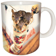 Stocking Stuffer Squirrel Mug | Christmas Mug