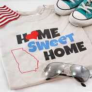 Home Sweet Home | Personalized State T-shirt