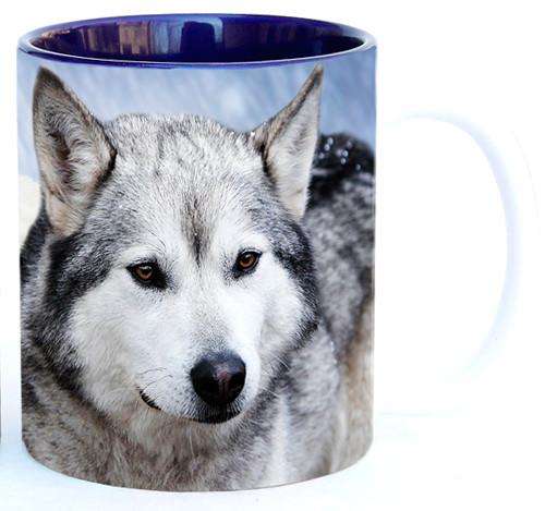 Timber Wolves in Snow Mug | Wolf Mug