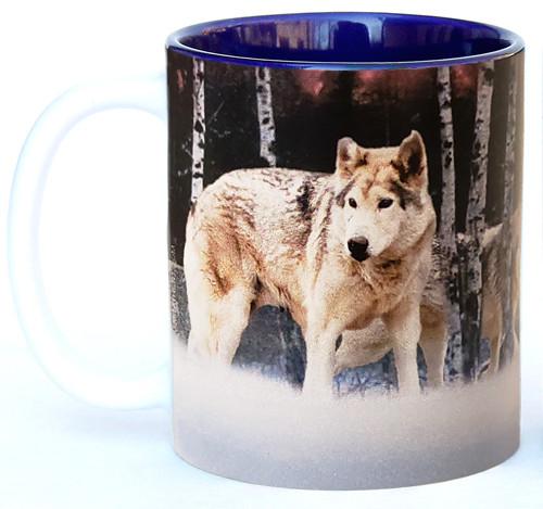 Wolves in the Woods Mug | Wolf Mug