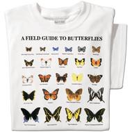 Field Guide to Butterflies T-shirt | Nature Tee