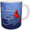 Cardinals are Appear when Angels are near Mug | Inspirational Bird Mug