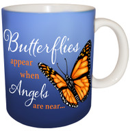Butterflies are Appear when Angels are near Mug | Inspirational Butterfly Mug