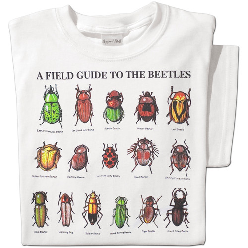 Field Guide to Beetles T-shirt | Nature Tee
