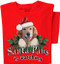 Santa Paws is Watching Dog T-shirt | Holiday Tee