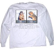 Mugshot Long Sleeve T-shirt | Funny Squirrel