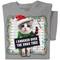 I knocked over the xmas tree T-shirt | Funny Cat T-shirt