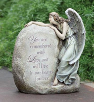"Memorial Garden Angel: ""You are remembered with Love..."""
