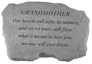 Grandmother Memorial Stone