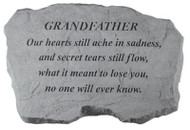 Grandfather Memorial Garden Stone