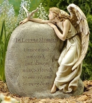 Memorial Garden Angel : In Loving Memory...