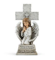 Praying Angel with Cross