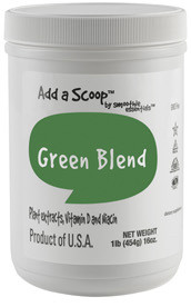 Green Blend provides many green food sources that will boost a healthy diet. Green vegetables are legendary for their importance in maintaining good health.