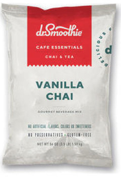 A mellow chai blend with notes of creamy vanilla and honey. Just add water or milk. That's all it takes to enjoy a cup of goodness.  No artificial colors, flavors, sweeteners, or preservatives. Gluten free & Shelf stable.