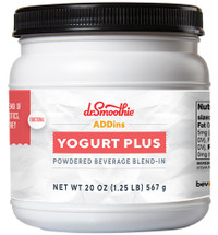 A powder blend of pre and probiotics, fiber and whey protein, NO FAT, NO HFCS, GLUTEN-FREE, NO ADDED SUGAR, NO PRESERVATIVES, NO ARTIFICIAL COLORS, FLAVORS OR SWEETENERS