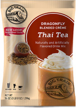 Ready for a vacation? You don't need a passport to transport yourself to a tropical destination with this unique Asian-inspired sweet cream and black tea blended drink. In addition to being coffee-free, Thai Tea Dragonfly™ is easy to make, Kosher Certified, and is a well-deserved vacation in a cup!