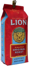 Original Lion Coffee is noted for its subtle sweet taste and flawless smooth finish. This original coffee blend is created from hand selected coffee beans from specific growing regions. And... Original Lion Coffee blend has satisfied our customers and friends since 1864. Over the years, they have come back to this coffee again and again. It's over a century of coffee roasting experience in your cup!